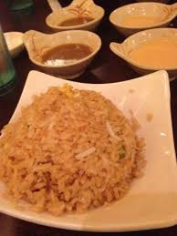 cuisine yum yum rice with and yum yum sauce picture of house