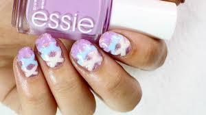 essie summer collection 2017 feminine nail art design youtube