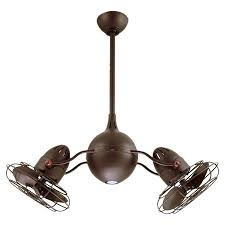 Industrial Style Ceiling Fan by Best 20 Dual Ceiling Fan Ideas On Pinterest Vintage Ceiling