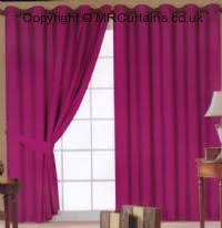Fuchsia Pink Curtains J Lewis Faux Silk Eyelets Curtain From 23 00 In Silver