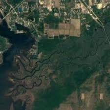 satellite map of florida the latestmilton floridagoogle satellite map