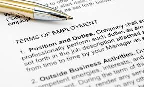 employment contract template spearhead elearning