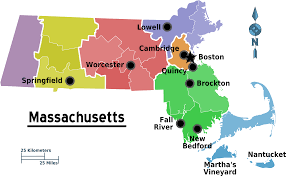 Map Of Boston Ma Map Of Massachusetts Map Regions Worldofmaps Net Online Maps