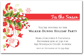 christmas invitations candy and swirls invitations christmas invitations