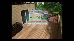 Laminate Flooring Waterproof Sealant Seal Once Nano Guard Waterproofing Wood Sealer Youtube