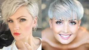 Hairstyles For Thinning Hair Female Short Haircuts For Women With Thin Hair Short Haircuts For Thin