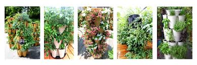 Vertical Gardening by Greenstalk A Stackable Plant Tower That Grows Vegetables