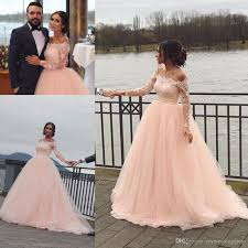 fall wedding dresses plus size discount 2017 fall winter country vintage lace applique wedding