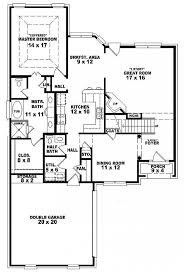 French Country Style House Plans 654105 Two Story 3 Bedroom 2 5 Bath French Country Style House