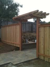 Fence Backyard Ideas by 18 Best Fence Ideas Images On Pinterest Fence Ideas Backyard