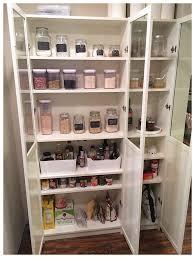 IKEA Pantry Hack Kitchen Pantry Using Ikea Billy Bookcase - Kitchen pantry cabinet ikea