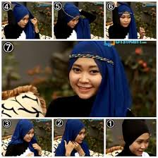 tutorial hijab turban untuk santai tutorial hijab untuk pesta hijab tutorial for party hijab