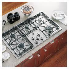 Ge Modular Cooktop Shop Ge Profile 36 Inch 5 Burner Gas Cooktop Color Stainless