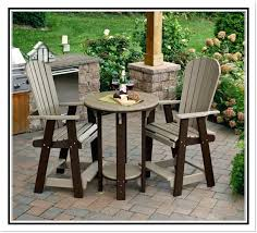 Patio High Chairs High Top Patio Table And Chairs Swivel Bar Stools Of