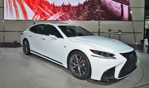 2018 lexus ls500 f sport air ride active 4ws live nyias photos