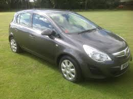 used vauxhall corsa exclusiv diesel cars for sale motors co uk