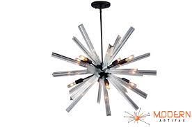 Bronze Chandelier With Crystals Sputnik Chandelier Oil Rubbed Bronze Finish 27 U0027 U0027 In Diameter With