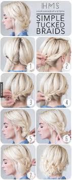 Hochsteckfrisurenen Schnell Und Einfach by Halboffene Haare Schnell Und Einfach Gestyled Frisuren Freitag