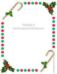 free christmas border templates download temasistemi net