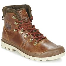 men ankle boots u0026 boots pallabrousse hiking brown palladium store