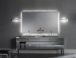 luxury bathroom design with silver accents