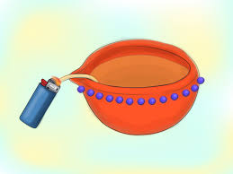 how to make diwali oil lamps with pictures wikihow