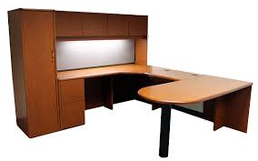 Hon Desk Hutch Hon 10700 U Private Office With Peninsula Roe Recycled Office