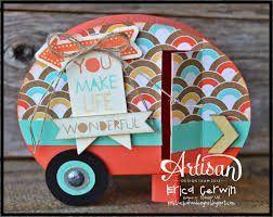 pink buckaroo designs artisan wednesday wow retro camper