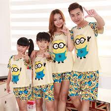 new parent child pajama sets family sleepwear cotton comfortable
