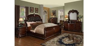 palazzo sleigh bed bedroom set empire furniture designs