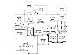 Floor Plans For One Story Homes Sweet Looking 6 House Plans Modern Craftsman One Story Home Homeca
