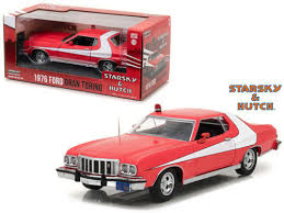 What Was The Starsky And Hutch Car 1976 Ford Gran Torino Starsky And Hutch 1 24 Scale Diecast Car