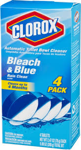 amazon com clorox automatic toilet bowl cleaner bleach and blue