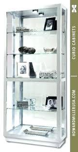 curved corner curio cabinet contemporary curved corner curio cabinet silver modern miller ideas