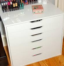 make up dressers makeup collection storage 2015 part 1 ikea alex dresser the