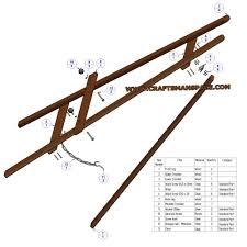 a frame plans free frame tripod easel plan