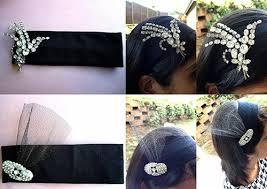 how to make a 1920s hairpiece how to diy gatsby inspired how to make gatsby jeweled headband