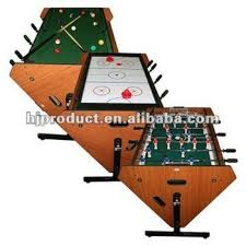 3 in 1 air hockey table new arrival rotating multi game table 3 in 1 air hockey football