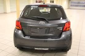 toyota yaris grey used 2016 toyota yaris hatchback le 4 door car in calgary ab 5465