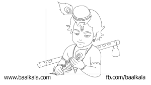 draw krishna