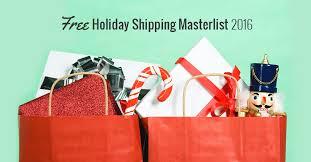 amazon black friday deals 2016 fred shipping free holiday shipping masterlist 2016 blackfriday fm