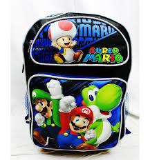 amazon nintendo black friday backpack nintendo super mario bros black u0026 blue 16