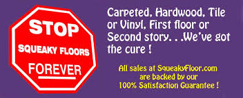 Fix Creaky Hardwood Floors - fix squeaky floor how to repair squeaky floors squeakyfloor com