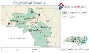 carolina district 9 map and representative 112th congress