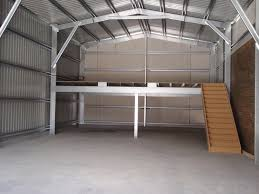 mezzanine garage gascity for sydney sheds garages industrial and commercial