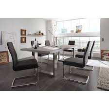 Grey Dining Table Chairs Savona Grey Dining Table With 8 Antigua Dining Chairs 23407