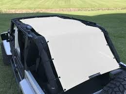 jeep islander 4 door alien sunshade jeep wrangler extra long full length mesh sun shade