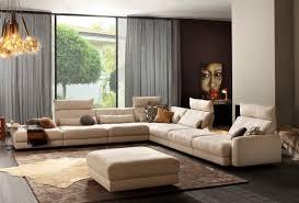 canapé lounge grand canapé c a hyper lounge cuir ou tissu