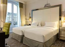 opera chambre hôtel opera chambre de luxe avec lits jumeaux