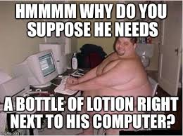 Lotion Meme - absolutely none of my business imgflip